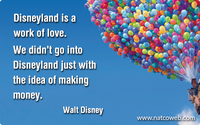 Walt Disney's Quote
